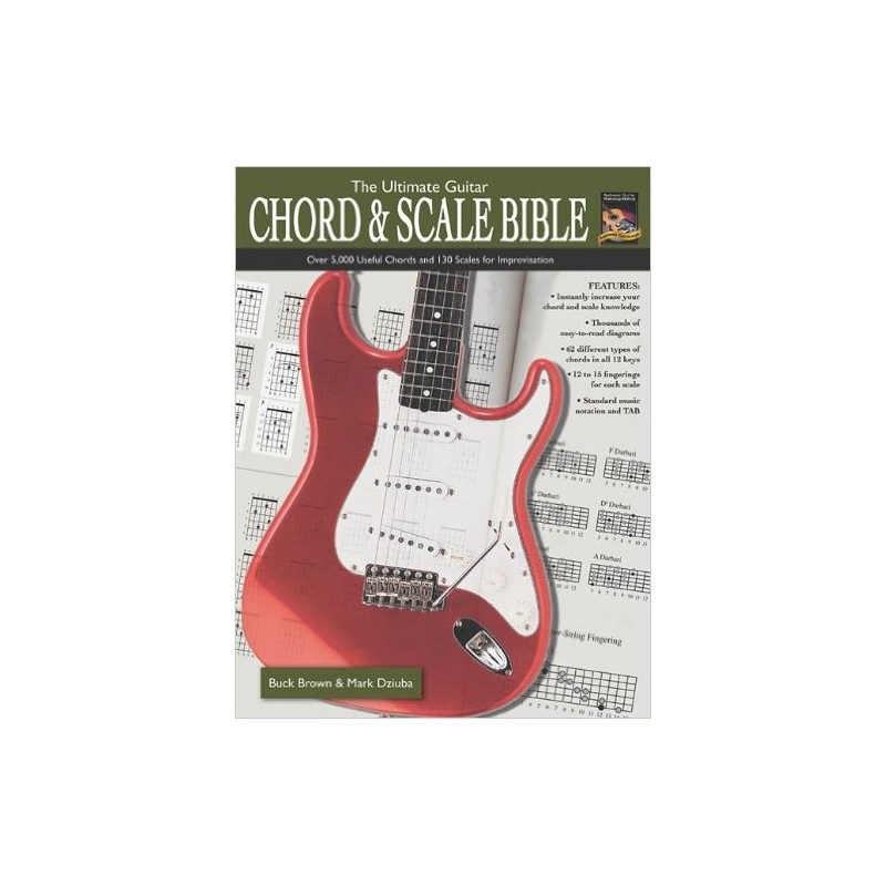 The Ultimate Guitar Chord Scale Bible Birdland Shop