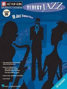 Jazz Play Along Volume 35: Bluesy Jazz (book/CD)