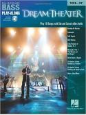 Dream Theater: Bass Play-Along Volume 47 (book/Audio Online)