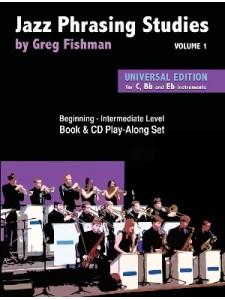 Jazz Phrasing Studies Volume 1 (book/2 CD)