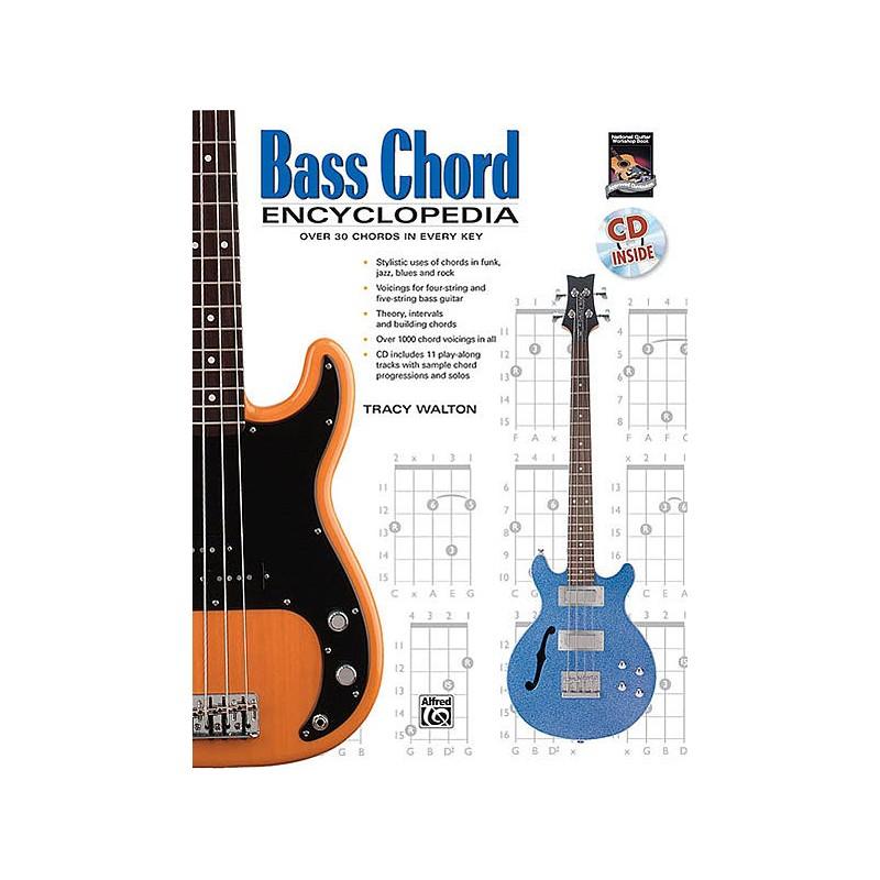 Bass Chord Encyclopedia (book/CD) - Birdland Shop