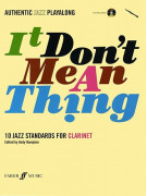 It Don't Mean A Thing for Clarinet (book/CD play-along)