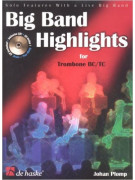 Big Band Highlights for Trombone BC/TC (book/CD)