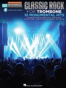 Classic Rock Trombone - Easy Instrumental Play-Along (book/Audio Access)
