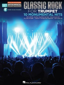 Classic Rock Trumpet - Easy Instrumental Play-Along (book/Audio Access)