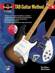 Basix: TAB Guitar Method, 1 (book/CD)