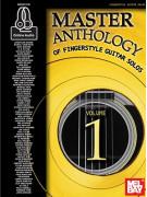 Master Anthology of Fingerstyle Guitar Solos Volume 1 (book/3 CD)