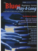 The Blues Play-A-Long for Piano Beginner Series (book/download audio MP3)