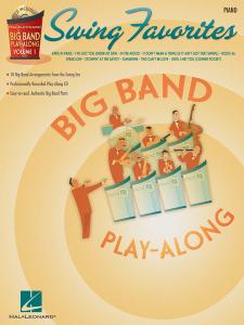 Big Band Play-Along: Swing Favorites Piano (book/CD)