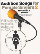 Audition Songs: I Dreamed A Dream - Female Singers (book/CD)
