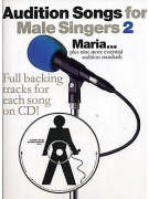 Audition Songs: Maria - Male Singers 2 (book/CD)