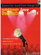 Essential Audition Songs: Love Songs - Male & Female Vocalists (book/CD sing-along)