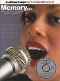 Audition Songs: Memory - Female Singers - (book/CD sing-along)
