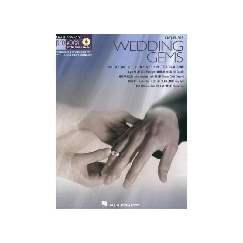 hal leonard pro vocal, Pro Vocal Wedding Gems Male Singers