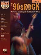 '90s Rock: Bass Play-Along Volume 4 (book/CD)