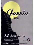 Jazzin' Piano - 12 Jazz Tunes (book/CD play-along)