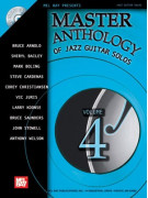 Master Anthology of Jazz Guitar Solos Volume 4 (book/CD)