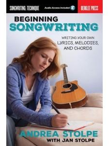 Beginning Songwriting (book/Audio Online)