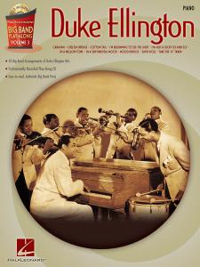 Big Band Play-along: Duke Ellington Piano (book/CD