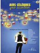 Airs célèbres pour accordeon (book/CD)