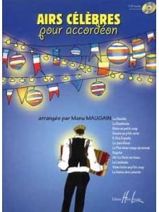 Airs célèbres pour accordeon (book/CD)