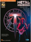 Metal Rhythm Guitar - Volume 1 (libro/CD) Edizione Italiana