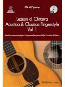 Lezioni di Chitarra Acustica & Classica Fingerstyle vol.1 (libro/CD)