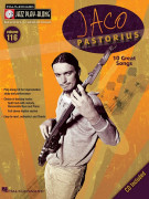 Jazz Play Along Volume 116: Jaco Pastorius (book/CD)