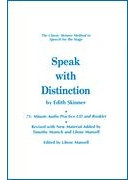 Speak with Distinction (booklet/CD)