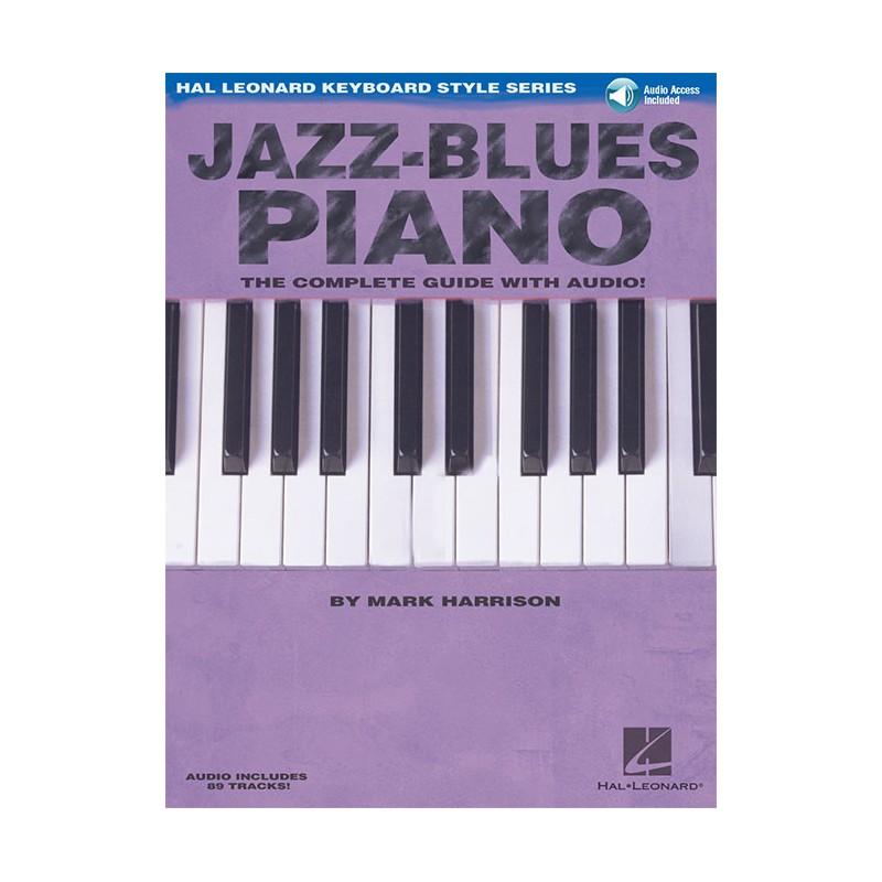 Learning Blues Piano From Music Score: Mark Harrison Jazz Piano Method, Metodi Piano Hal Leonard
