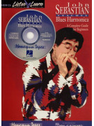 Teaches Blues Harmonica (book & CD)