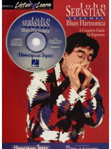 Teaches Blues Harmonica (book & CD)