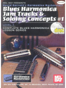 Blues Harmonica Jam Tracks & Soloing Concepts 1: Complete Method (book/CD)