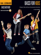 Hal Leonard Method: Bass For Kids - Book 1 (book/CD)