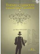 Thèmes Classiques Vol.1 pour Accordeon (book/CD)