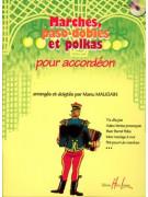 Marches, paso-dobles et polkas pour Accordeon (book/CD)