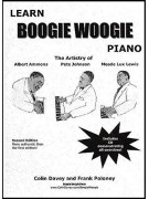 Learn Boogie Woogie Piano (book/CD)