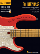 Hal Leonard Bass Method: Country Bass (book/Audio Online)