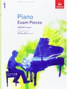 ABRSM Piano - Exam Pieces 2015-2016 Grade 1