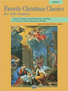 Favorite Christmas Classics for Solo Singer (book/CD) medium high