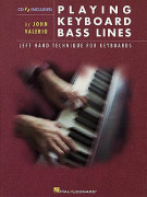 Playing Keyboard Bass Lines (book/CD)