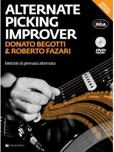 The Alternate Picking Improver (book/CD)