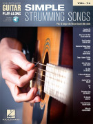 Simple Strumming Songs: Guitar Play-Along Volume 74 (book/Audio Online)