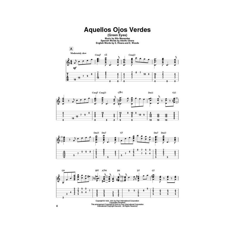 Latin Standards: Jazz Guitar Chord Melody Solos - Birdland Shop