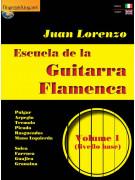 Escuela de la Guitarra Flamenca Volume 1 (libro/Video on line)