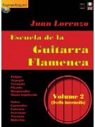 Escuela de la Guitarra Flamenca Volume 2 (libro/Video on line)