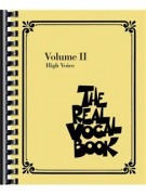 The Real Vocal Book: Volume II (High Voice)