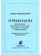 J.S. Bach 12 Pezzi facili - Per fisarmonica
