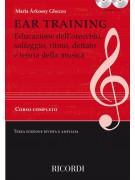 Solfeggio, ear training, ritmo, dettato e teoria (libro/2 CD)a