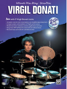 Ultimate Play-Along Drum Trax: Virgil Donati (book/2CD)